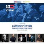 01-11-2016, Bruce Springsteen en el Stand Up For Heroes